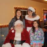 Santa and Mrs Claus with some guests!