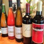 1st Tuesday of every month is wine, beer & saki tastings