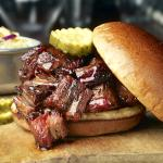 Brisket Burnt Ends Sandwich
