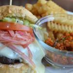 Korean BBQ Galbi Burger