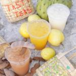 lively up your day with an Iced Cold Tea or Juice made with real Bahamian fruit! Only from Tasty