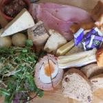 The ultimate ploughmans lunch - fantastic!