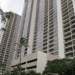 There are two towers at Waikiki Banyan.