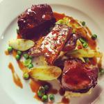 'Beef three ways' Knitsley style!