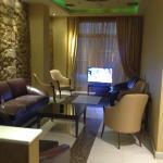 Eva hotel lobby area