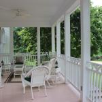 The beautiful veranda
