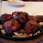 tandoori chicken --sizzling