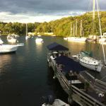 Eel Pond Harbor at Sunset