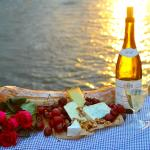 Take your picnic to go and enjoy it in a beautiful spot during sunset.