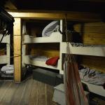 乗組員の部屋も見られます。