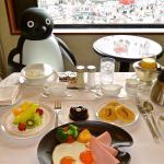 Premium Suica Penguin Room service breakfast