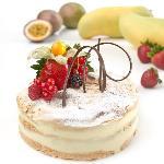 Signature Cake - Passion Fruit Meringue