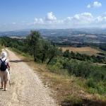 Sur le chemin au-dessus de la Torriola