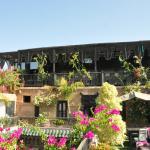 Leuk overdekt terras met mooi panorama op de hoogste verdieping