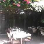 A l'ombre des bougainvilliers fleuris