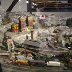 Model train set.