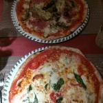 Lekkere pizza net zoals in Italia ! Een aanrader!