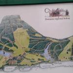 Site Plan of the Fondation Folon incl. Park -