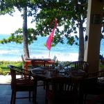 resto by the sea at Baruna restaurant, Holiway Garden Resort and Spa Bali