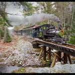 Wiscasset, Waterville and Farmington Railway Museum Foto