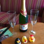 Rubber duckies and Champagne, who'd have thought?