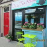 The Wee Tea Room, Catherine Street. Recently opened vintage theme.