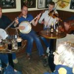 Irish music at Matt Molloys pub, Westport town centre