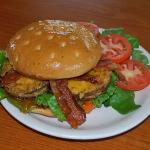 Fried Green Tomato and Bacon