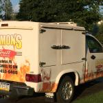 WE Cater! Our insulated truck, keeps your food hot and fresh.