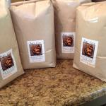 We use locally roasted beans...keeping it fresh!