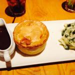 Steak and Merlot pie