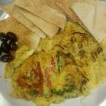 Mediterranean Breakfast Omelette