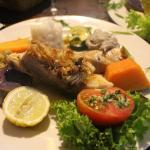 Exquisito pescado Toremo