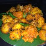 Cauliflower Bezule (mustard seeds / green chilies / curry leaves)