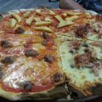 il tagliere di pizza