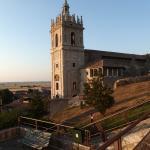 The adjacent church.