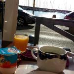 Agréable petit-déjeuner