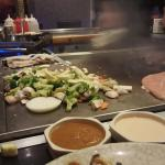 Hibachi tastes great!