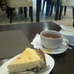 チーズケーキ、紅茶