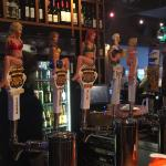 Great selection of house brand beer on tap