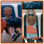 Grandson at Cedar Point