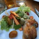 Halv grillad kyckling för 190kr