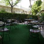 Hotel garden, July 2015