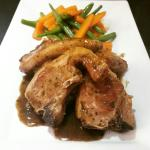 Lamb chops from the specials board