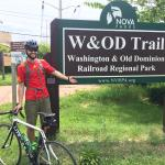 mile 0 of W&OD trail.