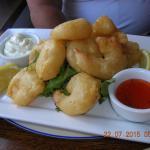 Deep fried prawns. Beautiful.
