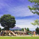 広々として、しっかり設備、管理されている公園です。