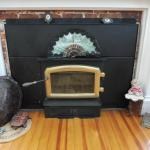 Fireplace in Superior King Room