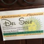 Restaurant Del Sole Foto