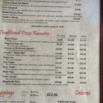 Geraldi's menu